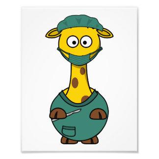 Doctor Giraffe Photograph