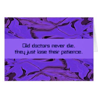 doctor humor greeting card