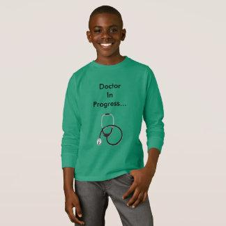 Doctor In Progress T-shirt for boys
