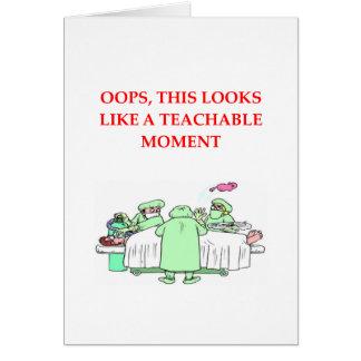 doctor joke card