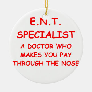 doctor joke christmas ornament