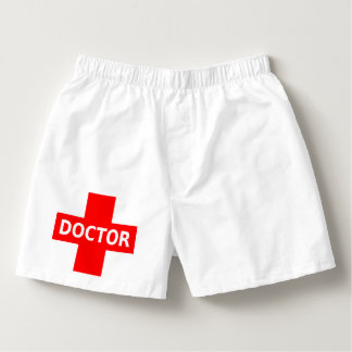 Doctor Logo Boxers