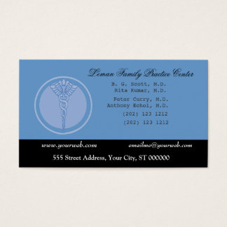 Doctor M.D. Business and  Appointment Business Card