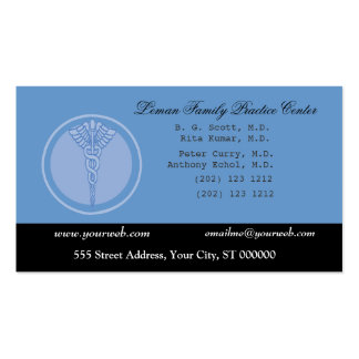 Doctor M.D. Business and  Appointment Pack Of Standard Business Cards