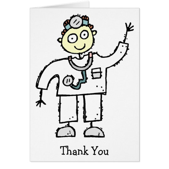 Doctor Male Thank You Cards