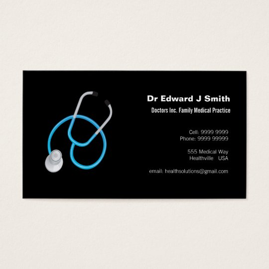 Doctor MD Medical Business Card Design Template