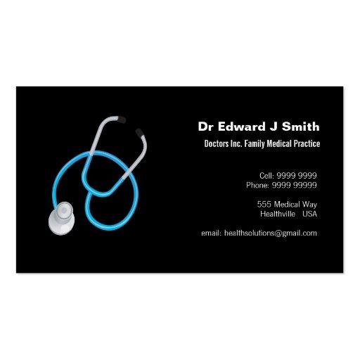 Doctor MD Medical Business Card Design Template