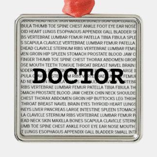Doctor Medical Terminology Christmas Christmas Ornament