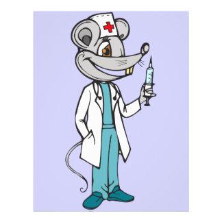 Doctor Nurse Mouse 21.5 Cm X 28 Cm Flyer