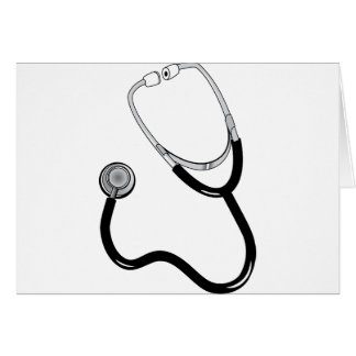 Doctor Nurse Sports Medicine Stethoscope Destiny Card