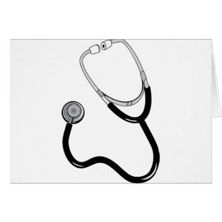Doctor Nurse Sports Medicine Stethoscope Destiny Greeting Card