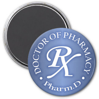 Doctor of Pharmacy 7.5 Cm Round Magnet