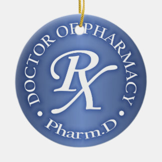 Doctor of Pharmacy Christmas Ornament