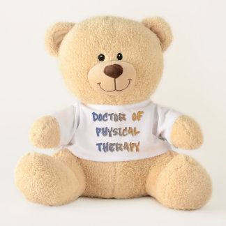 Doctor of Physical Therapy Teddy Bear