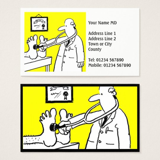 Doctor or Medical Professional Business Card