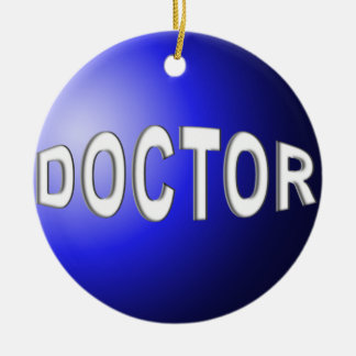 DOCTOR ORNAMENT CHRISTMAS