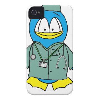 Doctor Penguin iPhone 4 Case