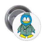 Doctor Penguin Pin
