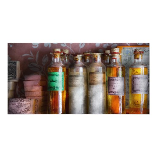 Doctor - Perfume - Soap and Cologne Photo Greeting Card