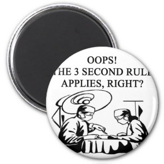 doctor physician surgeon joke 6 cm round magnet