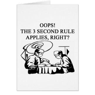doctor physician surgeon joke card