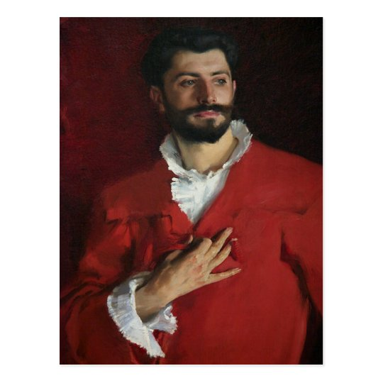 Doctor Pozzi at Home by John Singer Sargent