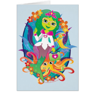 Doctor - Princess - Mermaid in Glasses Card :)