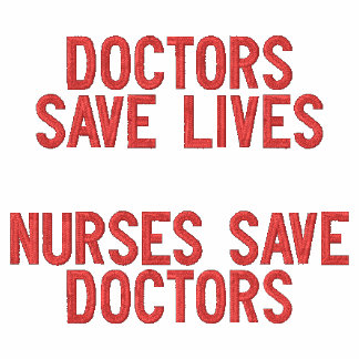 Doctor Save Lives Nurses Save Doctors Magnet Hoodie