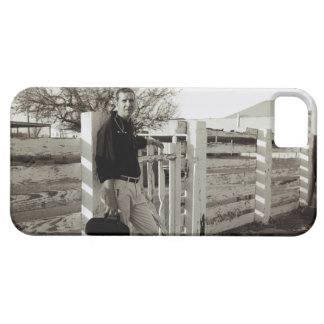 Doctor Standing by a Fence Barely There iPhone 5 Case