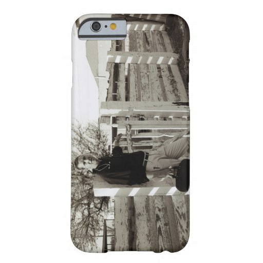 Doctor Standing by a Fence iPhone 6 Case