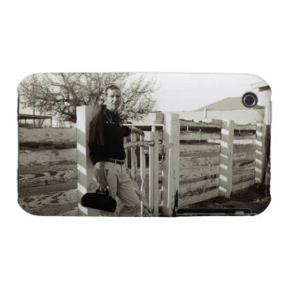 Doctor Standing by a Fence iPhone 3 Case