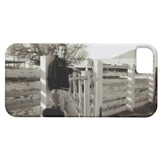 Doctor Standing by a Fence iPhone 5 Covers