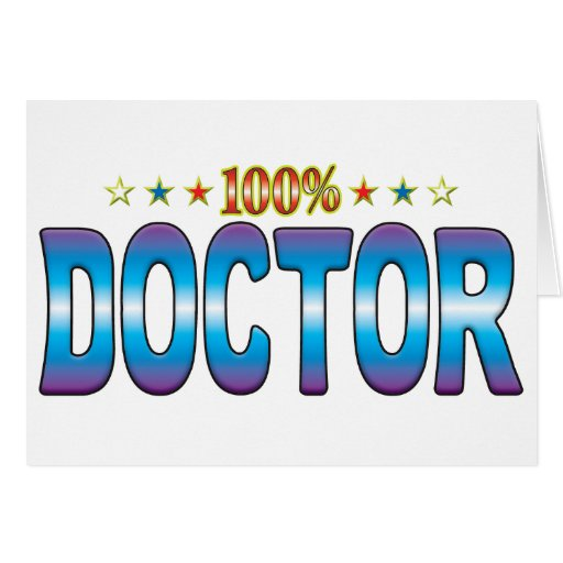 Doctor Star Tag v2 Greeting Cards