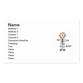 Doctor Stick Figure Business Card
