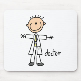 Doctor Stick Figure Mousepad