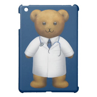 Doctor Surgeon Hospital Teddy Bear iPad Mini Cover