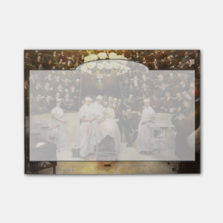 Doctor - Surgeon - Standing room only 1902 Post-it Notes