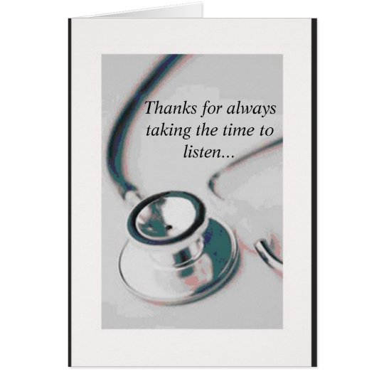 doctor, Thanks for always taking the time to
