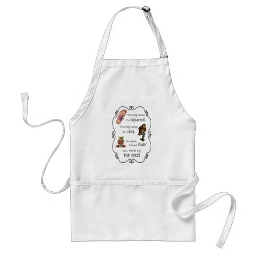 Doctor-When I Need Fixing You're My Top Pick Apron