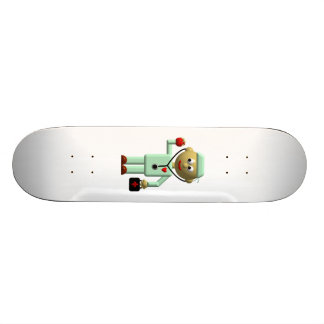 Doctor with Apple and Medical Bag Skateboard Deck