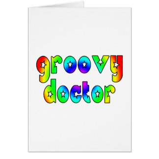 Doctors Birthday Christmas Parties Groovy Doctor Greeting Cards