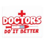 DOCTORS do it better! Postcards