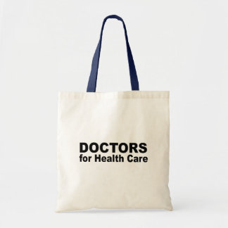 Doctors for health care canvas bag