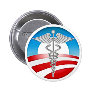 Doctors for OBAMA 6 Cm Round Badge