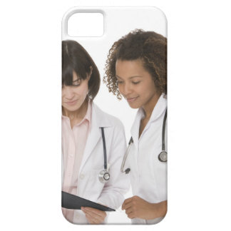 Doctors looking at clipboard barely there iPhone 5 case