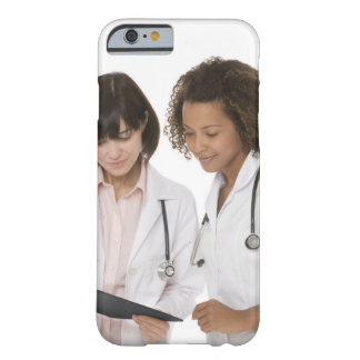Doctors looking at clipboard barely there iPhone 6 case