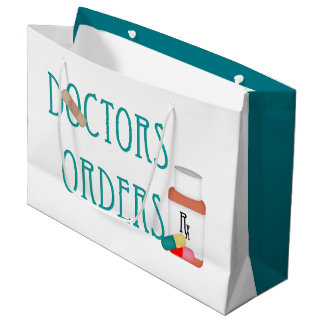 Doctors orders large gift bag