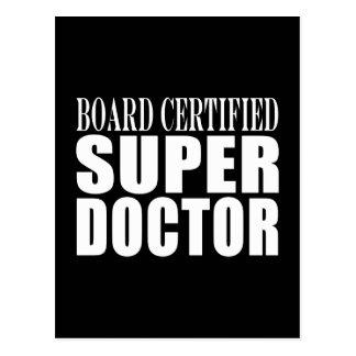 Doctors Parties : Board Certified Super Doctor Postcard
