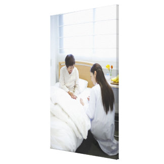 Doctor's rounds canvas print