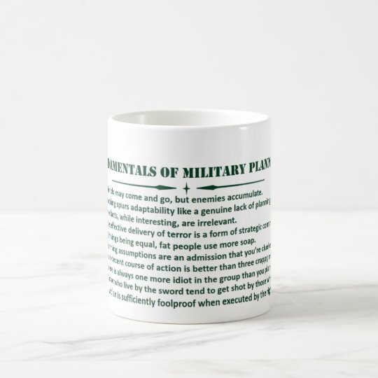 Doctrine Man!! Planning Fundamentals Coffee Mug